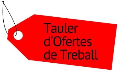 Tauler Ofertes de Treball