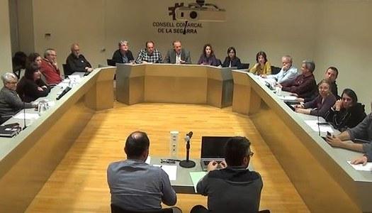 Comunicat del Consell Comarcal de la Segarra com a resposta a la sentència del TSJ amb matèria de l'aigua.