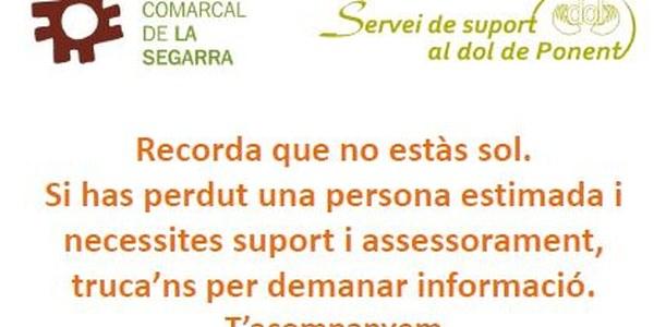 El Consell Comarcal de la Segarra disposarà d'un nou servei de suport al dol