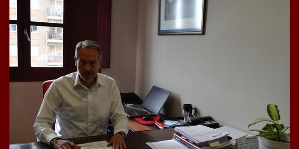 Fotografia d'arxiu del President del Consell Comarcal, Paco Lluch.
