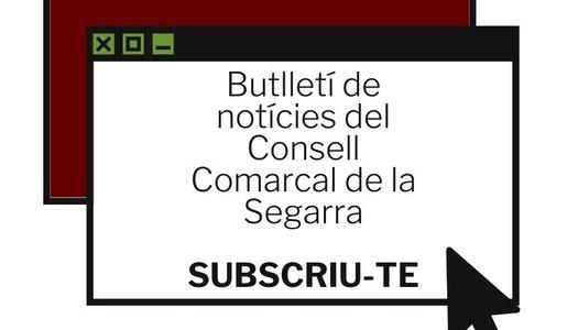 El Consell Comarcal de la Segarra estrena butlletí de notícies per a tota la comarca