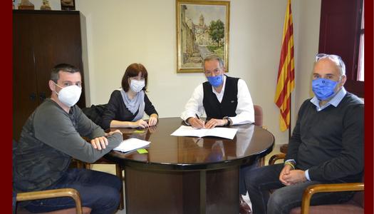 El Consell Comarcal de la Segarra renova el conveni amb ASPID per l'assessorament a les persones emprenedores que vulguin obrir una empresa.