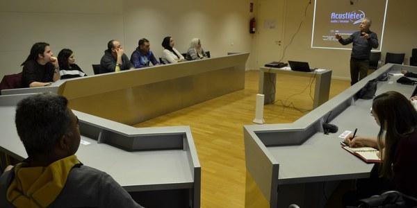 Sala de plens Consell Comarcal
