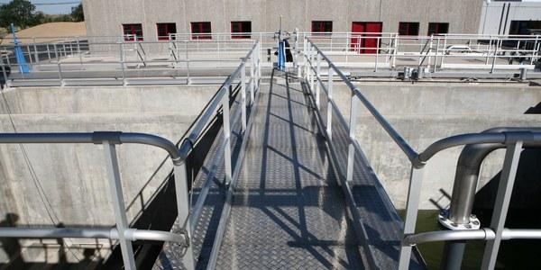 Imatge d'arxiu de l'ETAP (estació de Tractament d'aigua potable) a Ratera.