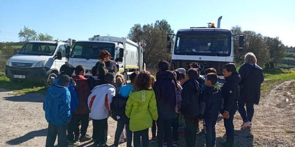 Els escolars de la Segarra gaudeixen del catàleg d'activitats que ofereix el Consell Comarcal
