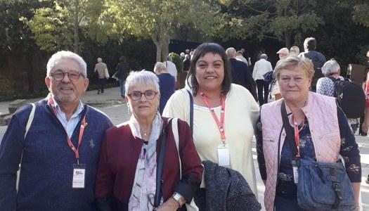 Els representants de la Gent Gran de la Segarra participen al 8è Congrés Nacional de la Gent Gran de Catalunya.