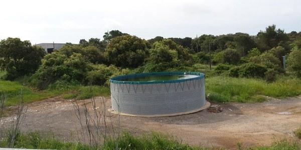Imatge d'un punt d'aigua a la comarca.
