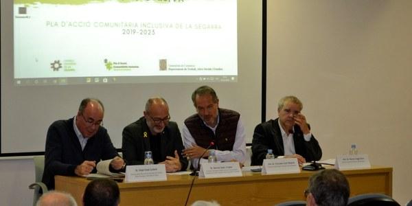 Èxit en la presentació del Pla d'Acció Comunitària Inclusiva de la Segarra