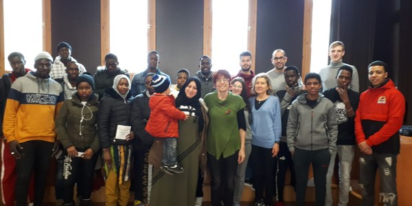 Fi de dos cursos de català a Guissona