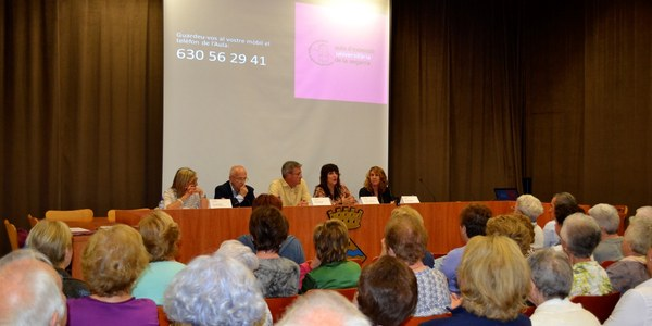 Fotografia de la Sala de Plens de l'Ajuntament de Guissona.