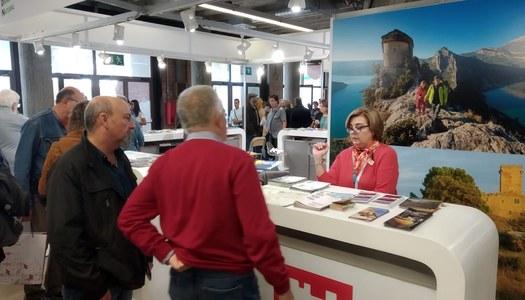 L'Àrea de Turisme del Consell Comarcal promociona l'oferta turística de la Segarra en la 58a Fira de Mostres de Girona.