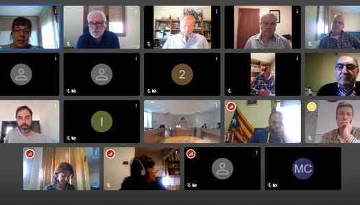 La Segarra projecta el Consell d'Alcaldesses i Alcaldes per videoconferència i presencial.