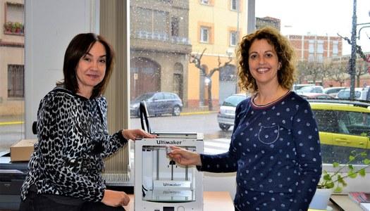Les escoles de la comarca de la Segarra ja disposen d'una impressora 3D
