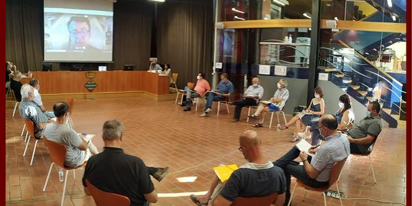 Imatge d'arxiu del Consell d'Alcaldies del passat mes de juliol a Guissona.