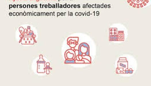 Prestació d'urgència per a subministraments bàsics per a persones afectades per la situació de crisi ocasionada per la COVID-19