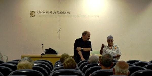 Fotografia de la xerrada al Centre Cívic de Cervera.