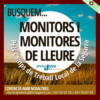 VOLS TREBALLAR COM A MONITORMONITORA DE LLEURE DEL CAMP DE TREBALL LOCAL 2021.png