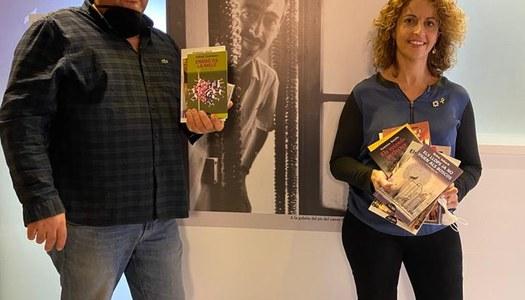 Els llibres guanyadors del premi 7lletres, a l'Espai Pedrolo de Concabella.