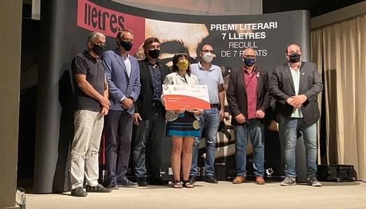 La segarrenca Ester Enrich Coma guanya la 15a edició del Premi 7lletres amb Blanc sobre negre.