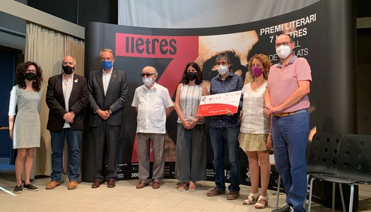 Ramon Pardina, guanyador del XVI Premi 7lletres amb El gran circ domèstic
